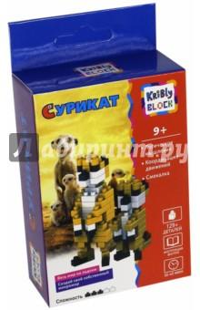 Купить Конструктор Kribly Block Сурикат , 129 деталей (65244), KriBly Boo, Конструкторы из пластмассы и мягкого пластика