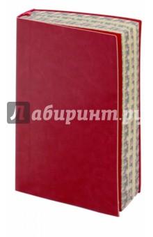 Ежедневник недатированный Сариф (А6, малиновый) (42574) желай делай ежедневник
