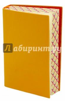 Ежедневник недатированный Сариф (А6, желтый) (42576) желай делай ежедневник