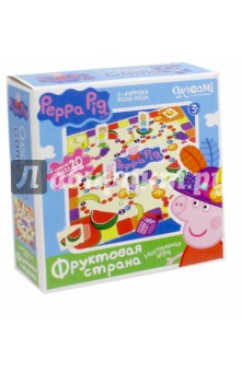 Peppa Pig. Настольная игра Фруктовая страна (01585) origami peppa pig настольная игра прятки