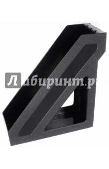 """Лоток для бумаг вертикальный """"БАЗИС"""", черный (ЛТ32)"""