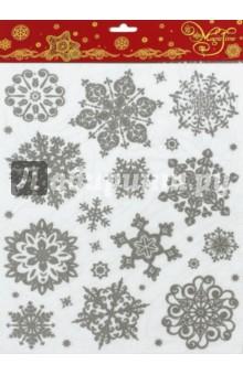 Украшение новогоднее оконное (38639) новогоднее оконное украшение феникс презент обезьянки