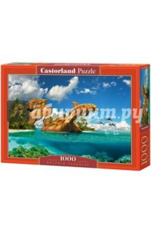 Puzzle-1000 Дельфиний рай (C-103508) паззл castorland поцелуй ангела 68х47 см 1000 элементов
