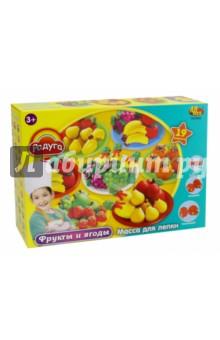 Купить Набор массы для лепки Фрукты и ягоды (043462), ABtoys, Лепим из пасты