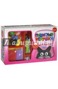 наборы для поделок fun kits пушистые игрушки из проволочек и помпончиков Пушистые игрушки из проволочек и помпончиков