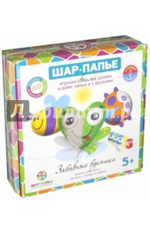 Купить Набор для детского творчества Магниты. Забавные букашки (В01685), ШАР, Раскрашиваем и декорируем объемные фигуры
