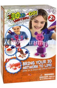 """3D ручка """"Вертикаль GO. Панда"""" Комплект из 2 ручек (166056)"""