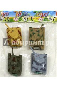 Набор инерционных игрушек. Танки (6385-4) набор инерционных игрушек танки 6385 4