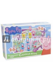 Peppa Pig .Настольная игра Сладкая жизнь (01591) origami peppa pig настольная игра прятки