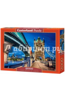 Puzzle-2000 Тауэрский мост (C-200597) пазлы crystal puzzle 3d головоломка вулкан 40 деталей