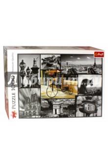 Puzzle-1000 Париж - коллаж (10279) trefl puzzle 500 зима коллаж 37242