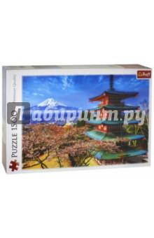Trefl. Puzzle-1500 Вид на гору Фудзияма (26132) trefl puzzle 500 полнолуние на манхеттене 37261