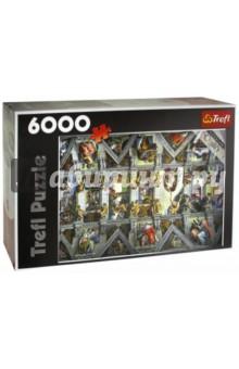 Trefl. Puzzle-6000 Сикстинская капелла (65000)