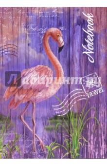 Записная книжка, 120 листов НОУТБУК. ФЛАМИНГО (42676) записная книжка 200 листов ноутбук фламинго 42668