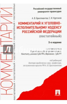 Комментарий к Уголовному исполнительному кодексу Российской Федерации (постатейный)