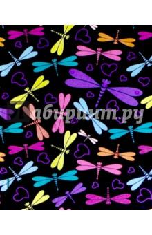 Записная книжка Notebook. Стрекозы. 80 листов. А6 (42721) феникс записная книжка ноутбук фламинго 80 листов