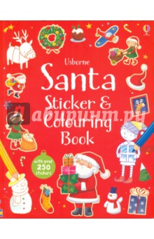 Santa Sticker and Colouring Book my first things that go colouring book