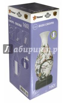 "3D Пазл ""Ваза. Сакура"", 160 деталей (S1001-160)"