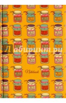 Книга для записей Чудесные баночки (80 листов ,А5) (КЗБ5802049) записные книжки канц эксмо книга для записей с поролоном 80 листов орнамент разноцветные зонтики