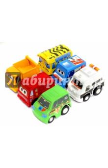 Набор инерционных машинок (6 штук) (2813-6) набор машинок коллекционных playsmart р41290