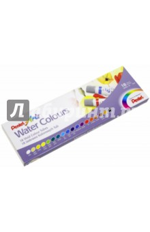 Акварель Water Colours, 18 цветов (03-5044/WFRS-18) Pentel