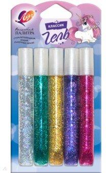 Купить Гель с блестками Блеск (5 цветов) (18С1195-08), Луч, Сопутствующие товары для детского творчества