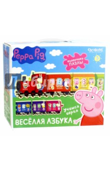 Peppa Pig. Игра. Паровозик Веселая Азбука (02361) peppa pig playing football