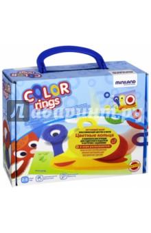 """Обучающий набор """"Цветные кольца"""" (31796) Miniland Educational"""