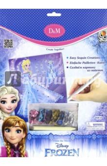 Набор для декорирования Эльза Frozen (с пайетками) (65099) набор для детского творчества набор веселая кондитерская 1 кг