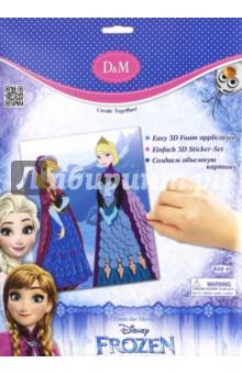 Набор для декорирования Принцессы Frozen (с EVA) (65101) набор для детского творчества набор веселая кондитерская 1 кг