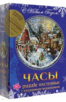Новогодний сувенир. Часы-puzzle (+ DVD Щелкунчик) щелкунчик сказка балет dvd