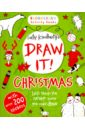 Kindberg Sally Draw it! Christmas how to draw early learning fun