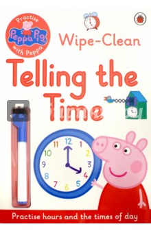 Telling the Time. Wipe-Clean telling glow