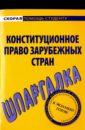 Обложка Шпаргалка: Конституционное право зарубежных стран