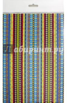 Картон цветной поделочный с тиснением Полоски (А4, 4 листа) (С4284-06) картон цветной поделочный кружочки 4 листа с4284 07