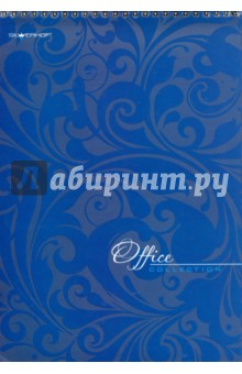 Бизнес-блокнот Темно-синий, 60 листов на спирали, А4 (732060-54)