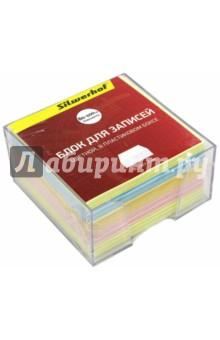 Блок для записей цветной (90х90х45мм, 5 цветов) (702007) цветной сургуч перо для письма купить в украине