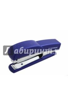 Степлер Debut (пластик, №10, 12 листов, синий) (401065-02) линейка silwerhof 160155 пластик дл 20см прозрачный офицерская спайка