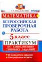 ВПР. Математика. 5 класс. Практикум по выполнению типовых заданий. ФГОС