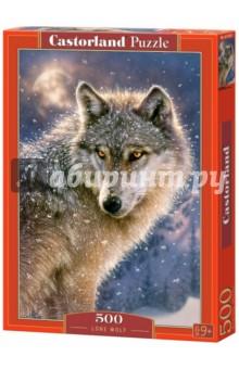 Puzzle-500 Волк (B-52431) puzzle 500 яркие совы alpz500 7701