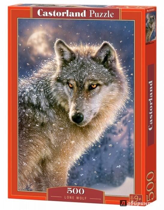 """Иллюстрация 1 из 11 для Puzzle-500 """"Волк"""" (B-52431)   Лабиринт - игрушки. Источник: Лабиринт"""