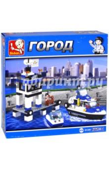Конструктор Полицейский патруль (206 деталей) (M38-B1200) b toys чем поп музыка довольно творческие бисерные бусы 50 лет не должен выстраиваться 4 портативное оборудование океана синего bx1378z
