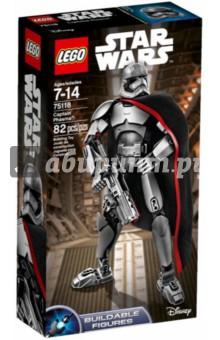 Конструктор Star Wars/ Капитан Фазма (75118) lego lego star wars 75118 капитан фазм