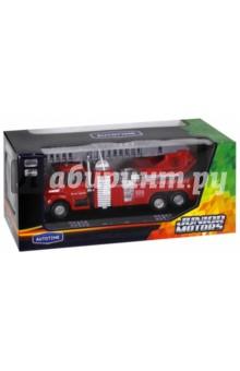 Машинка Fire Liquidator Truck пожарная, с лестницей (34123) машина autotime imperial truck series 65137