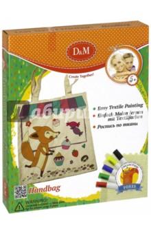 Купить Набор для декорирования сумки Лисы (60721), D&M, Шитье, вязание