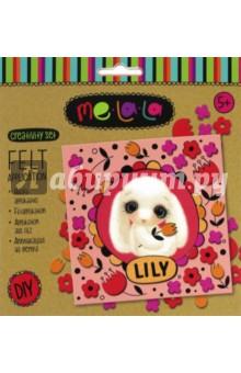 Купить Набор для создания аппликации из фетра Зайка Lily (62482), Премьер-игрушка, Аппликации