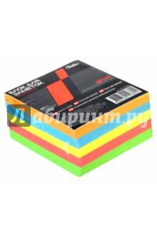 Блок для заметок, 9х9х4,5 см, цветной, 5 цветов (LN_10205) нивелир для выравнивания пола киев купить