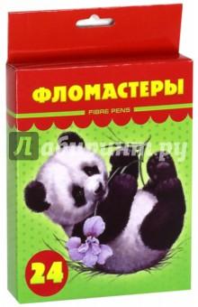 """Фломастеры """"Милые пушистики"""" (24 цветов) (BFk_24230) от Лабиринт"""