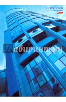 Тетрадь общая Архитектура (80 листов, А4, клетка, цветной блок) (80Т4B1к_10971)
