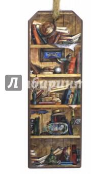 Закладка декоративные для книг Книжные полки (43571) закладка для книг колокольчик